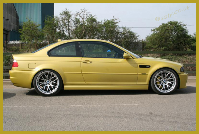 E46 2003 M3 Phoenix Yellow Manual 78k Modified The M3cutters